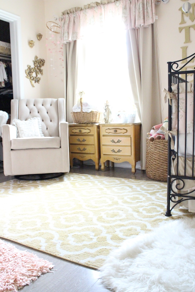 Huntley S Vintage Glam Nursery Tour A Home With Walls