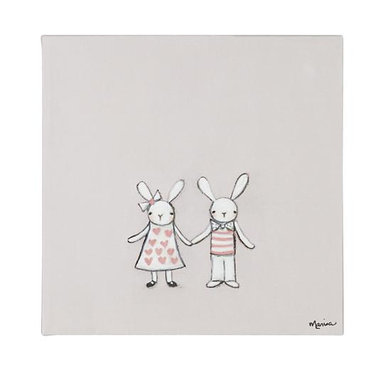 bunny-love-wall-art