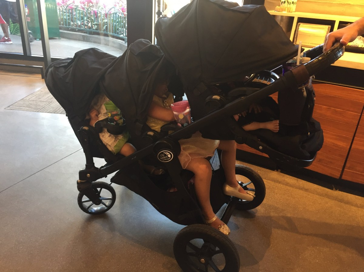 The Baby Jogger City Select Triple Stroller Hack A Home